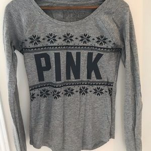 PINK Victoria's Secret Tops - Comfy Long Sleeve